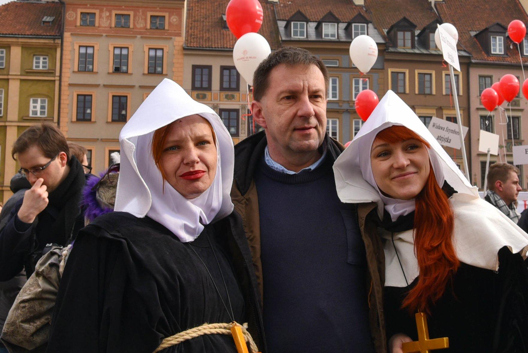 Zakonnice straszą piekłem prezesa Koalicji Ateistycznej