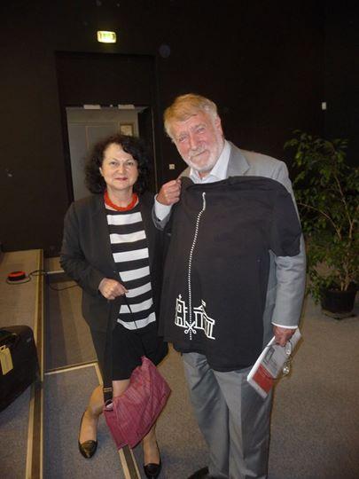Nina Sankari i Pierre Galand