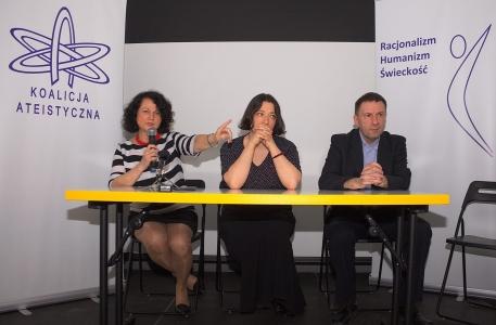 Konferencja Prasowa otwierająca Polskie Dni Ateizmu 2014