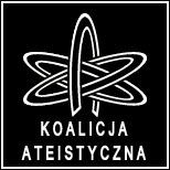 Koalicja Ateistyczna - logo inwersja